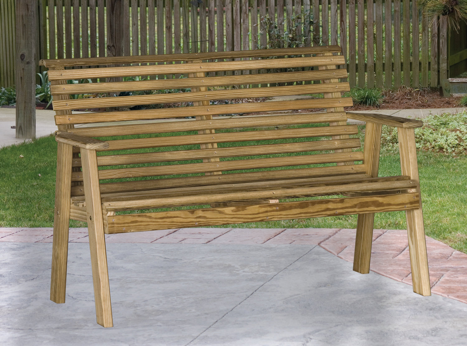 Plain Rollback Bench