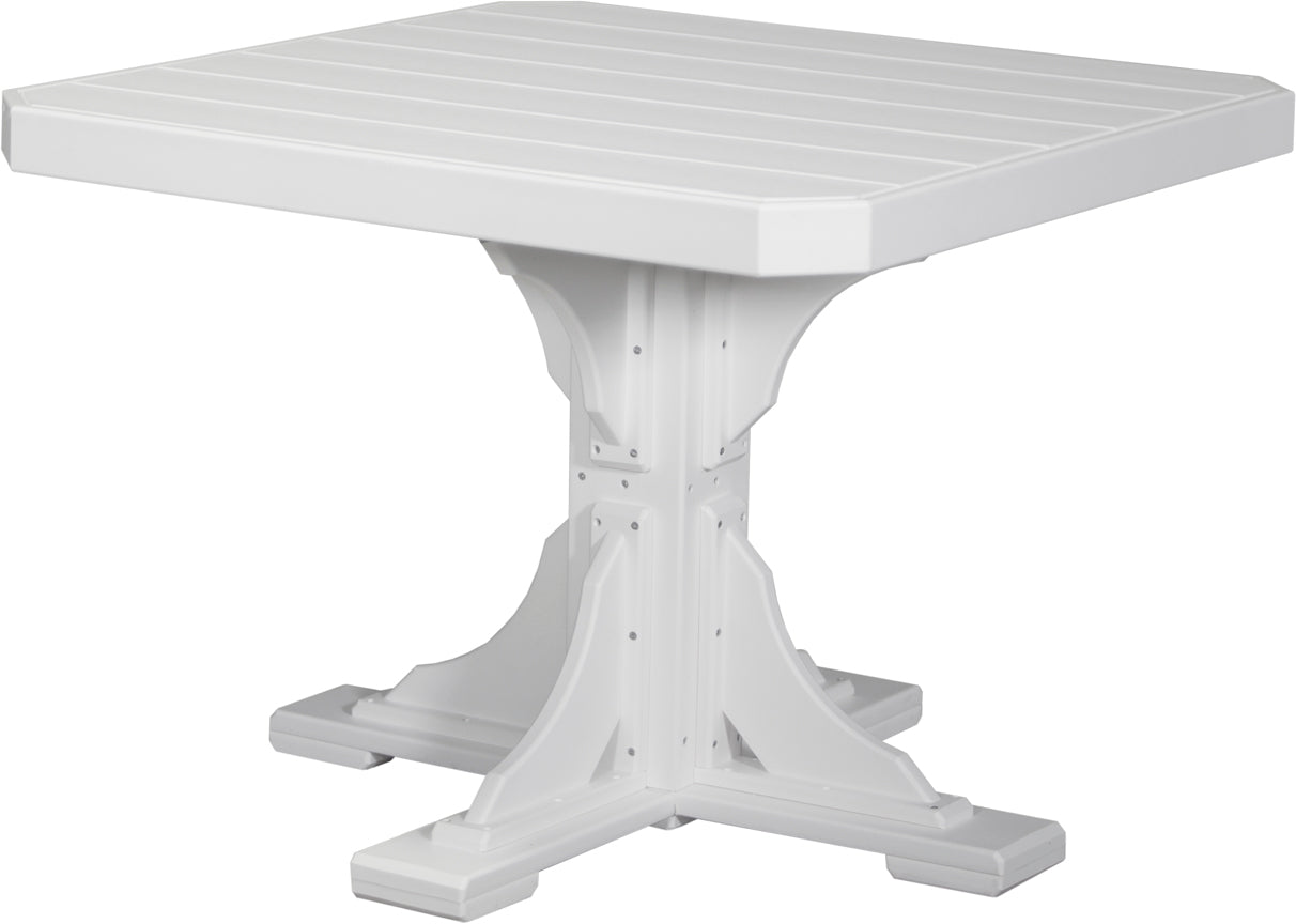 "Poly 41"" Square Table Set"