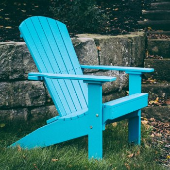 Poly Lakeside Adirondack Chair