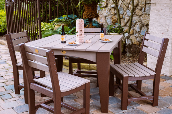 Poly Island Dining Table Set