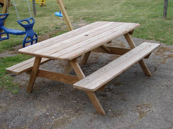 Wooden Standard Picnic Table