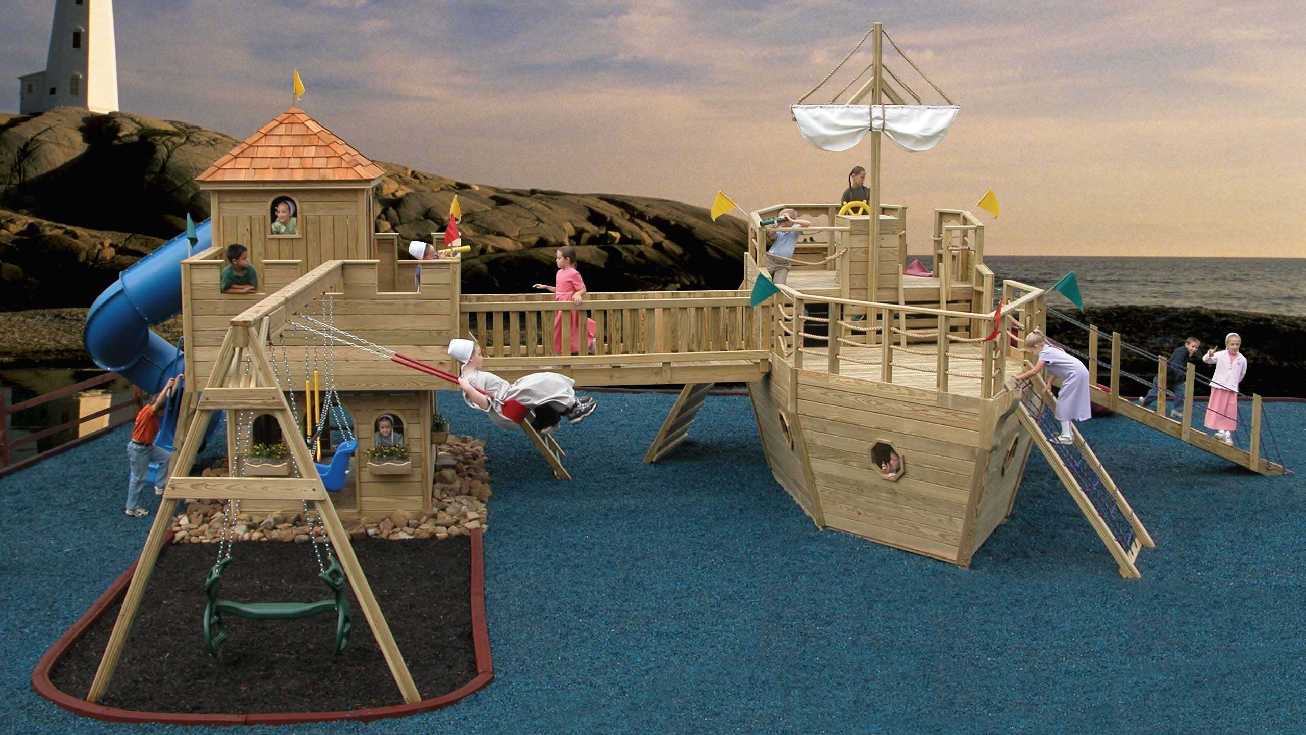 For the best in backyard playgrounds