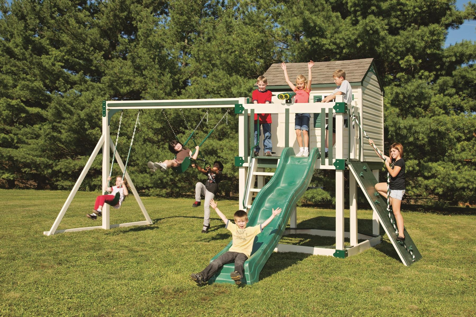 Weatherproof Swing Sets