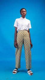 Salome African Print Trouser