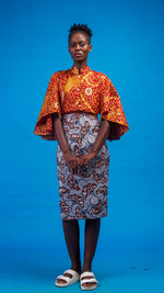 Ghadah African Print Two Piece