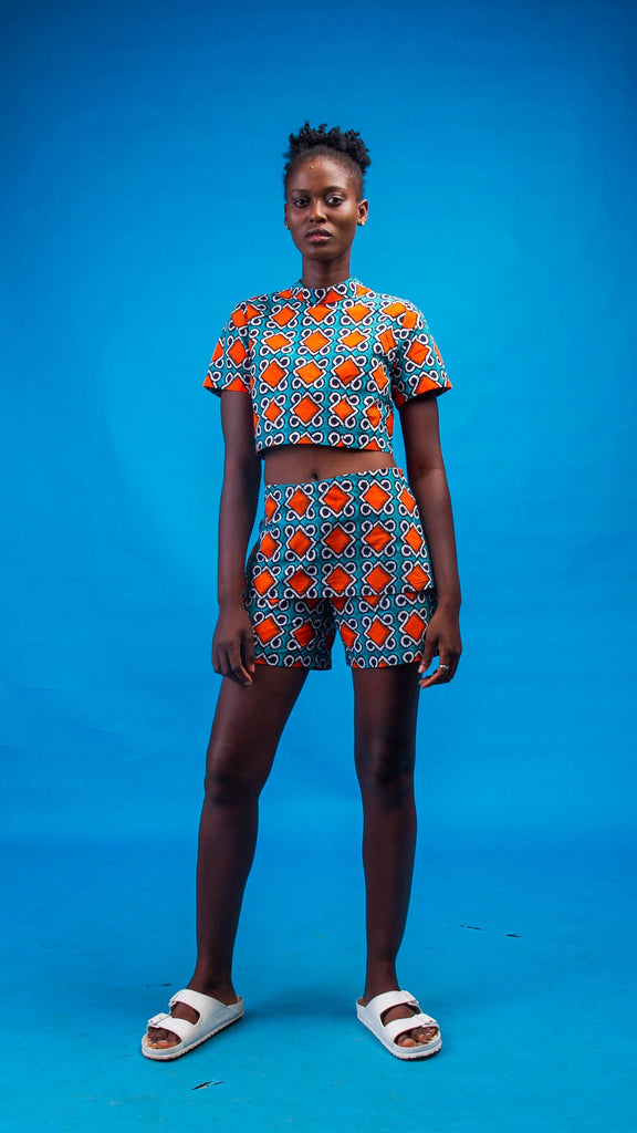 Imaan African Print Two Piece