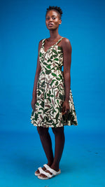 Imani African Print Dress - Atelier D'Afrique