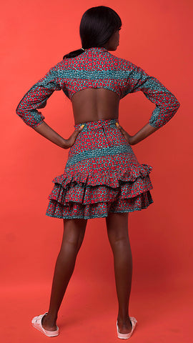 Soukeyna African Print Skirt