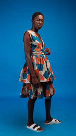 Kaleela African Print Dress - Atelier D'Afrique