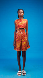 Leticia African Print Two Piece