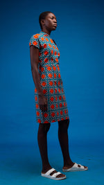 Visola African Print Dress - Atelier D'Afrique