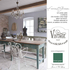 Chalk Paint Forest Green Napoli Home Design