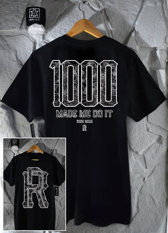 The 1000 Club Tee View 1 - Motorcycle T-shirt