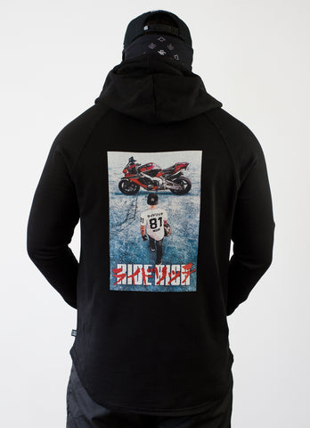 2019 is Now Scoop Pullover Hoodie {Black}