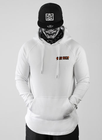 2019 is Now Scoop Pullover Hoodie {White}