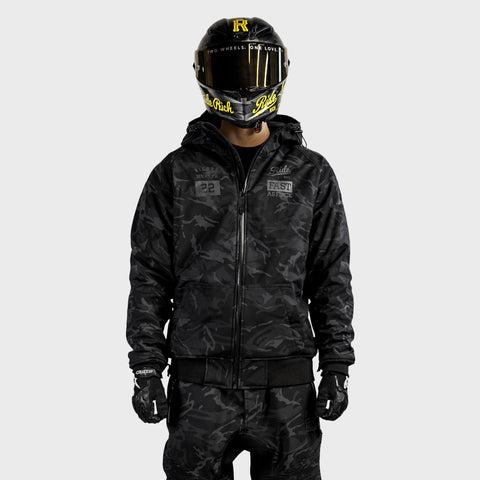 Regency™ Armoured Softshell Hooded Jacket {RR GP/Camo}