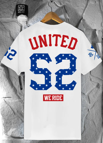 United We Ride Tee {White} Limited Edition