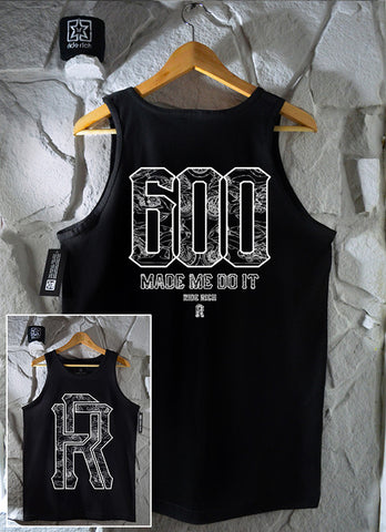 The 600 Club Tank View 1 - Motorcycle Tank Top
