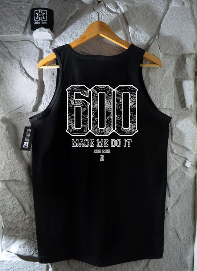 The 600 Club Tank View 3 - Motorcycle Tank Top
