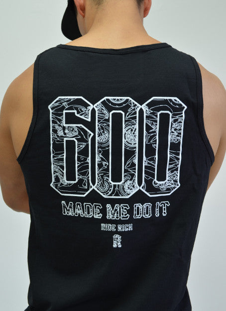 The 600 Club Tank View 5 - Motorcycle Tank Top