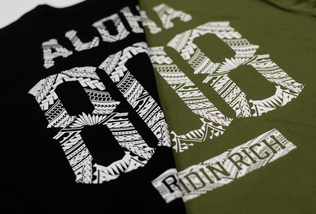 Home Grown 808 Edition Tee {Army Green}