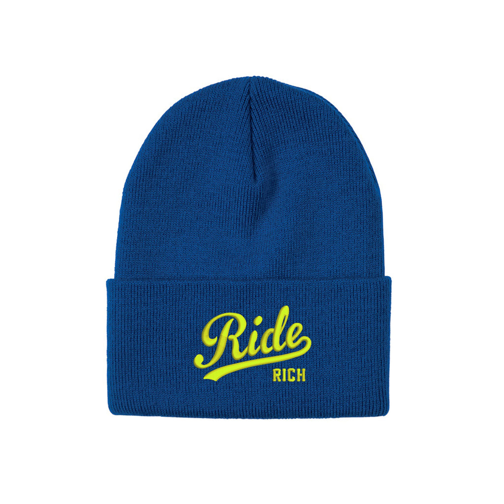 RR Squad Knit Beanie {Blue/Yellow}
