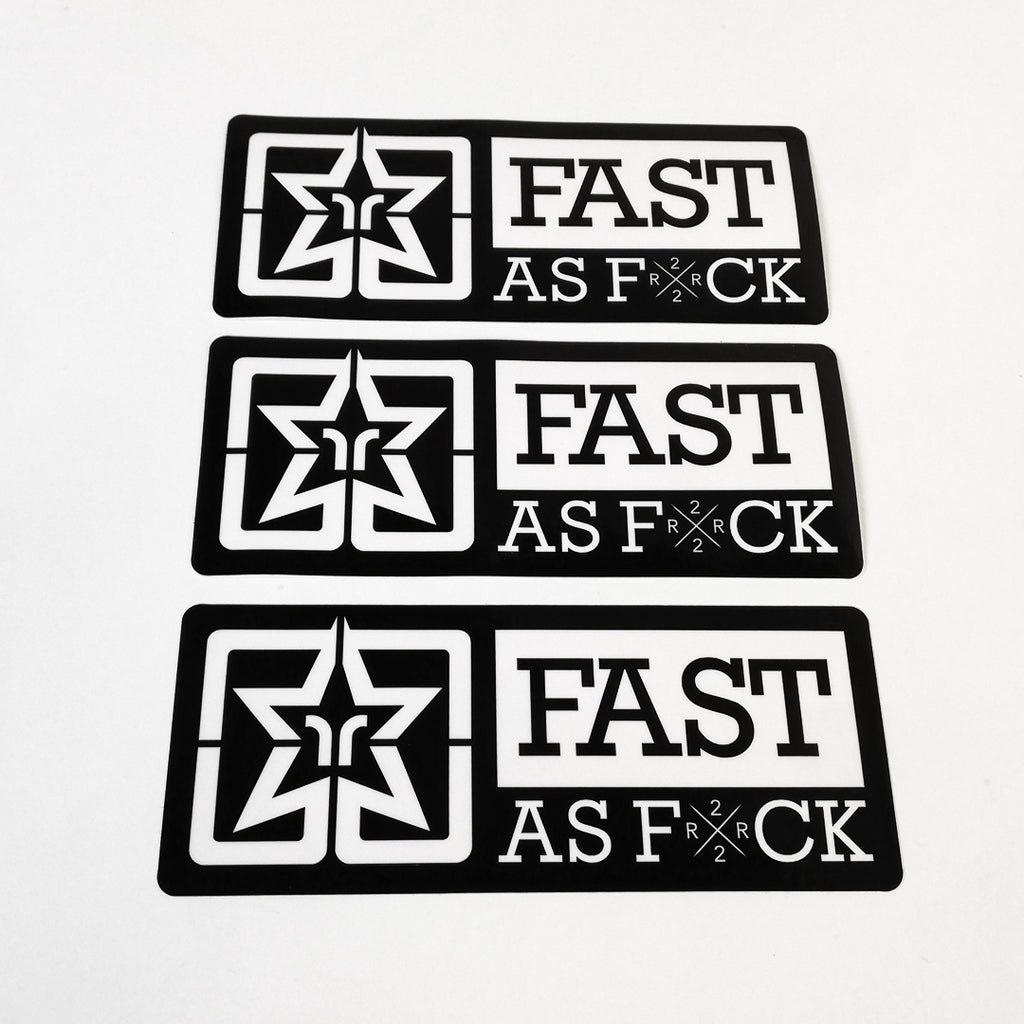 Been Fast Vinyl Sticker {Large}