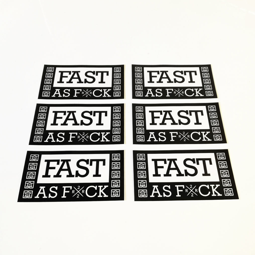 Been Fast Vinyl Sticker {Medium}