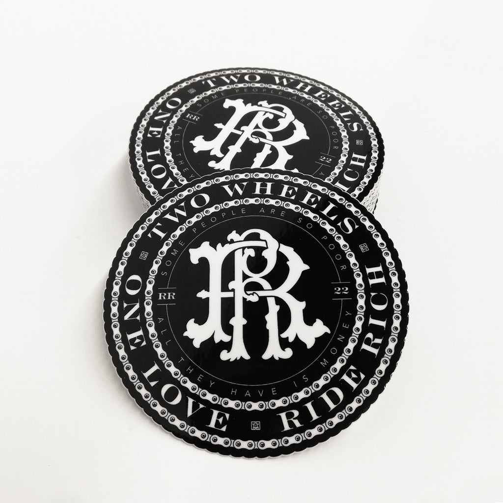 RR Chainburst Vinyl Sticker