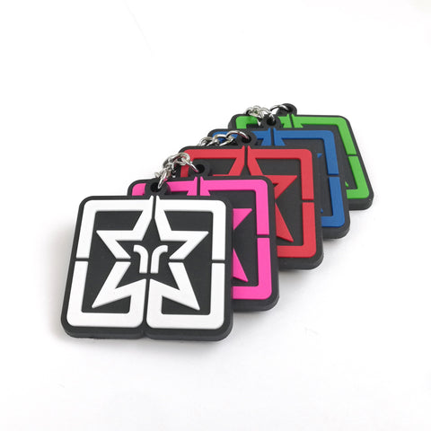 Ride Rich Star Keychain