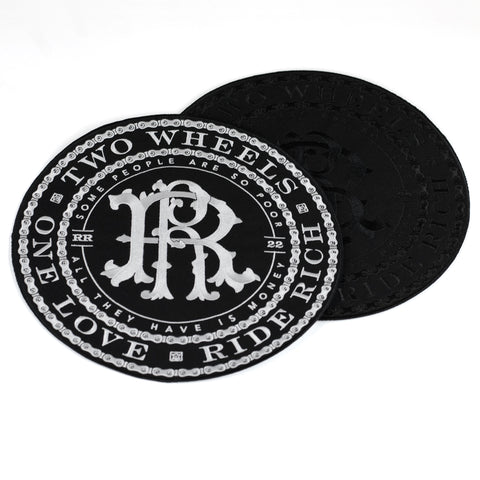 RR Filigree & Chains Embroidered Patch {XL}