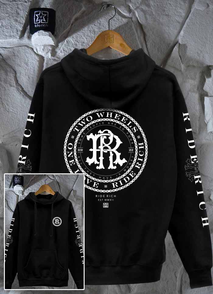 RR Filigree & Chains Pullover Hoodie 1