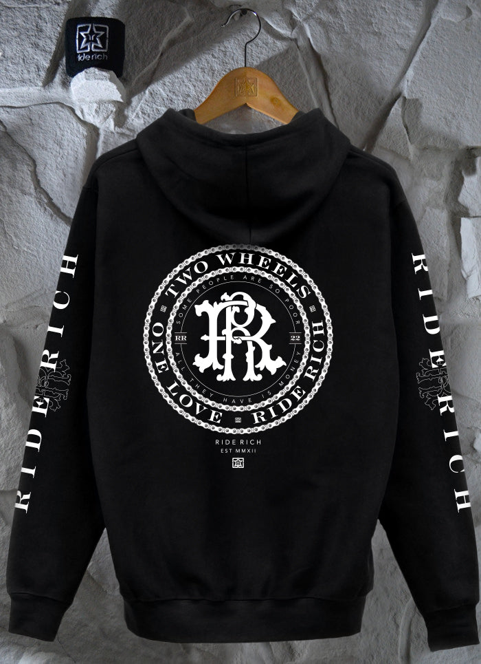 RR Filigree & Chains Pullover Hoodie 3