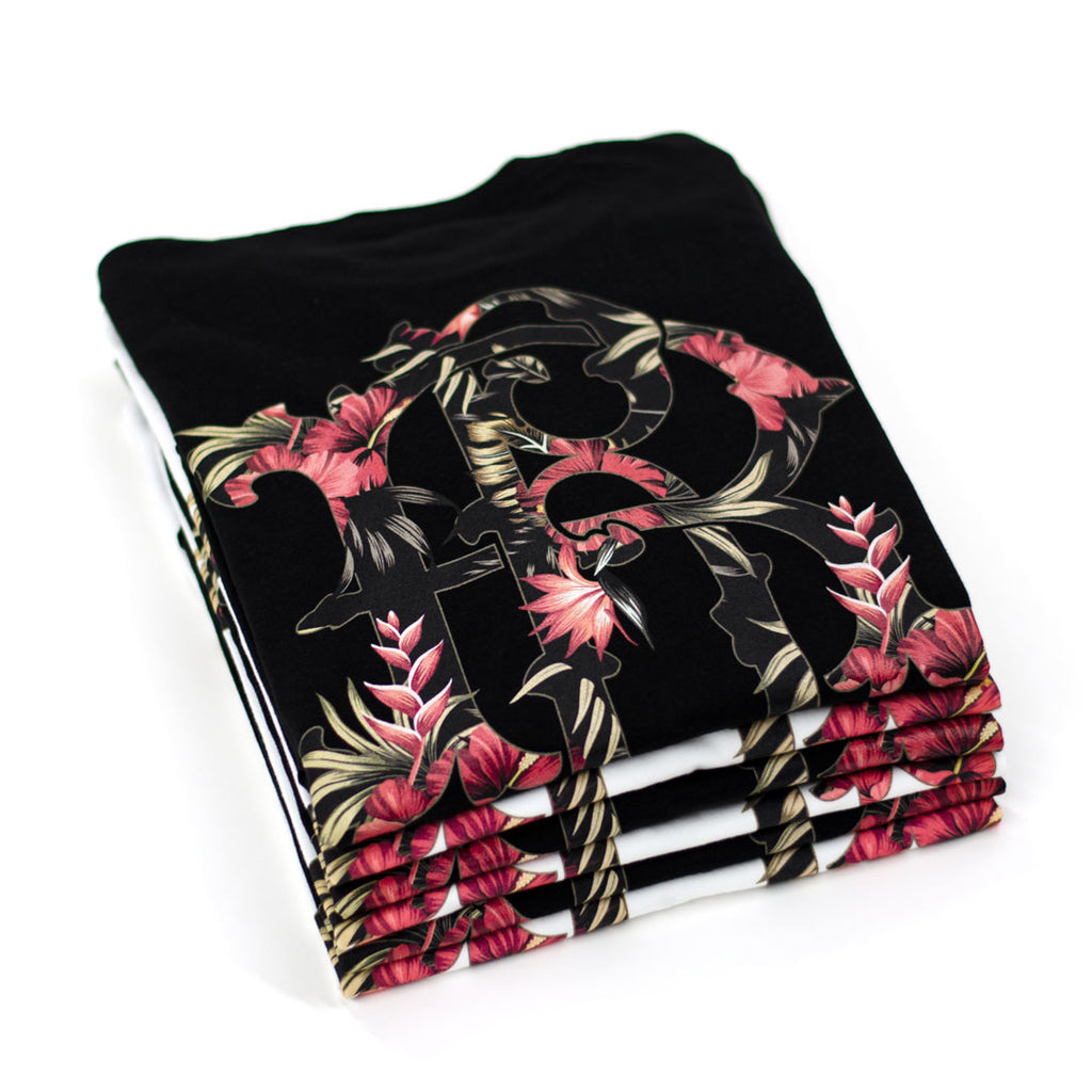 RR Filigree & Flowers Tee