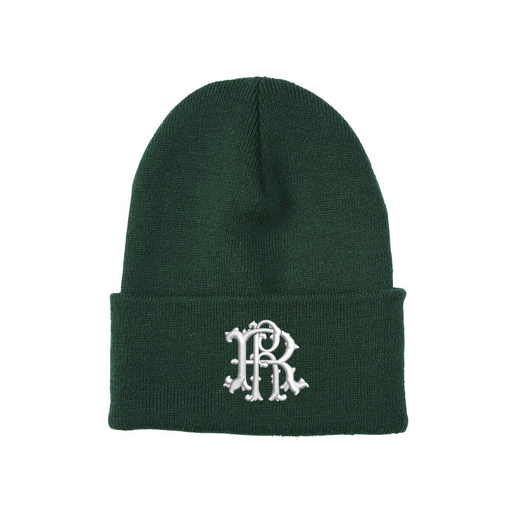 Ride Rich Filigree Knit Beanie {Green}