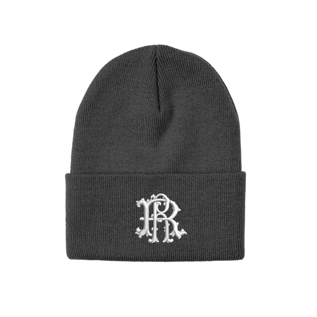 Ride Rich Filigree Knit Beanie {Grey}