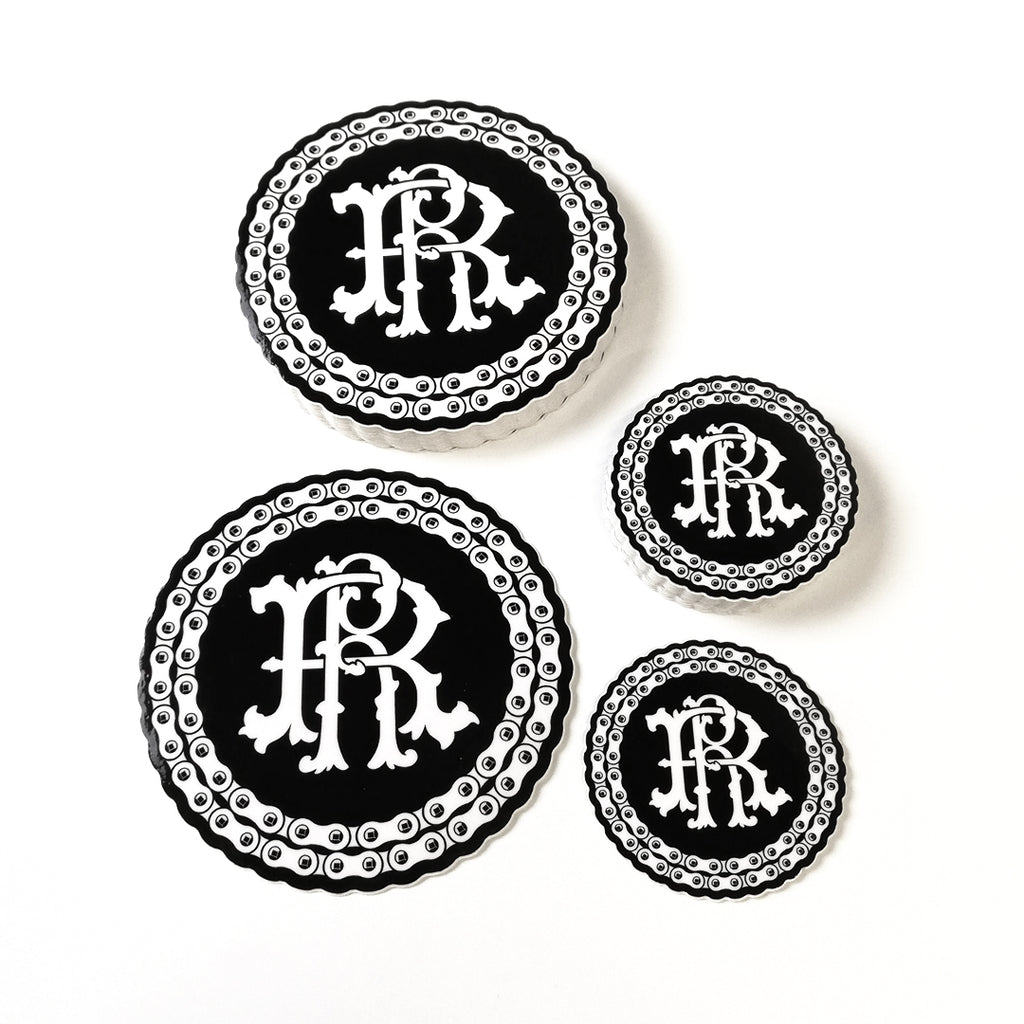 RR Filigree & Chains Vinyl Sticker {Small}
