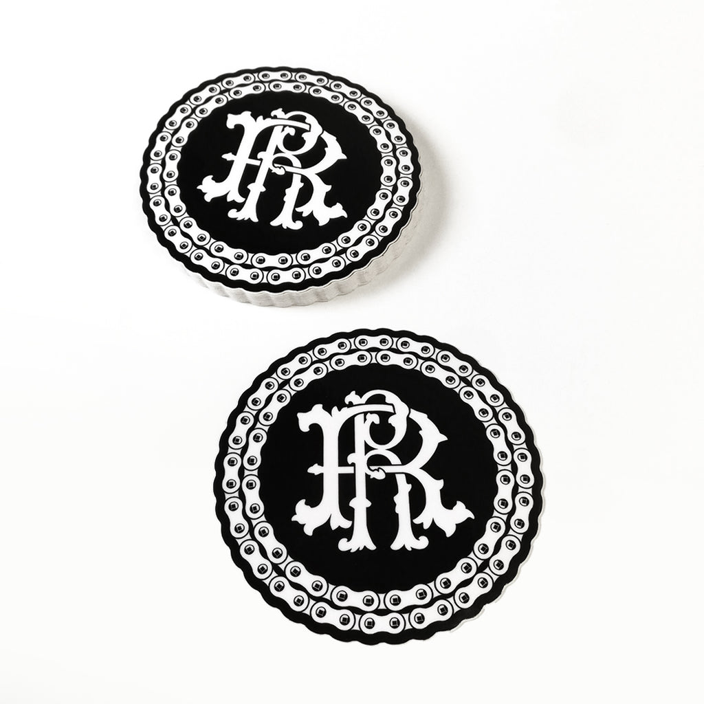 RR Filigree & Chains Vinyl Sticker {Medium}