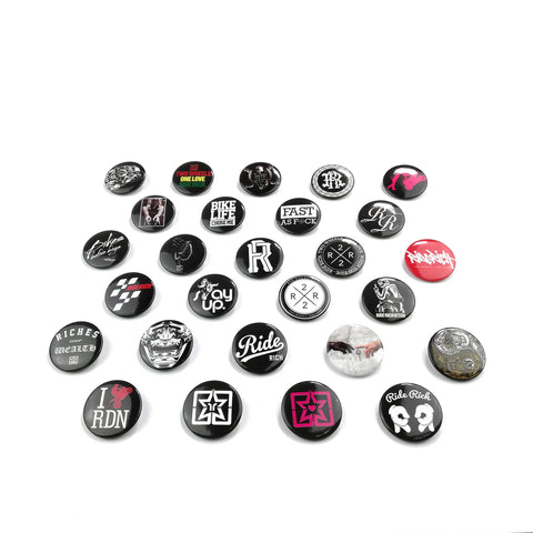 Ride Rich Mini Buttons
