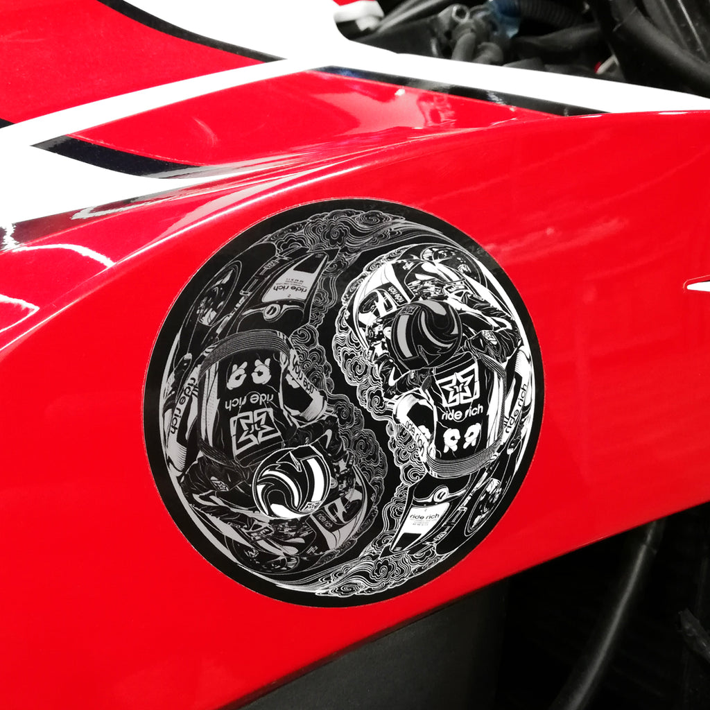 Master of Self Vinyl Sticker