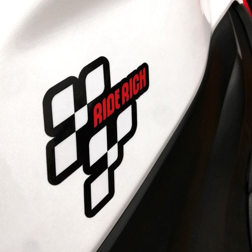 MotoRR Vinyl Sticker {Medium}