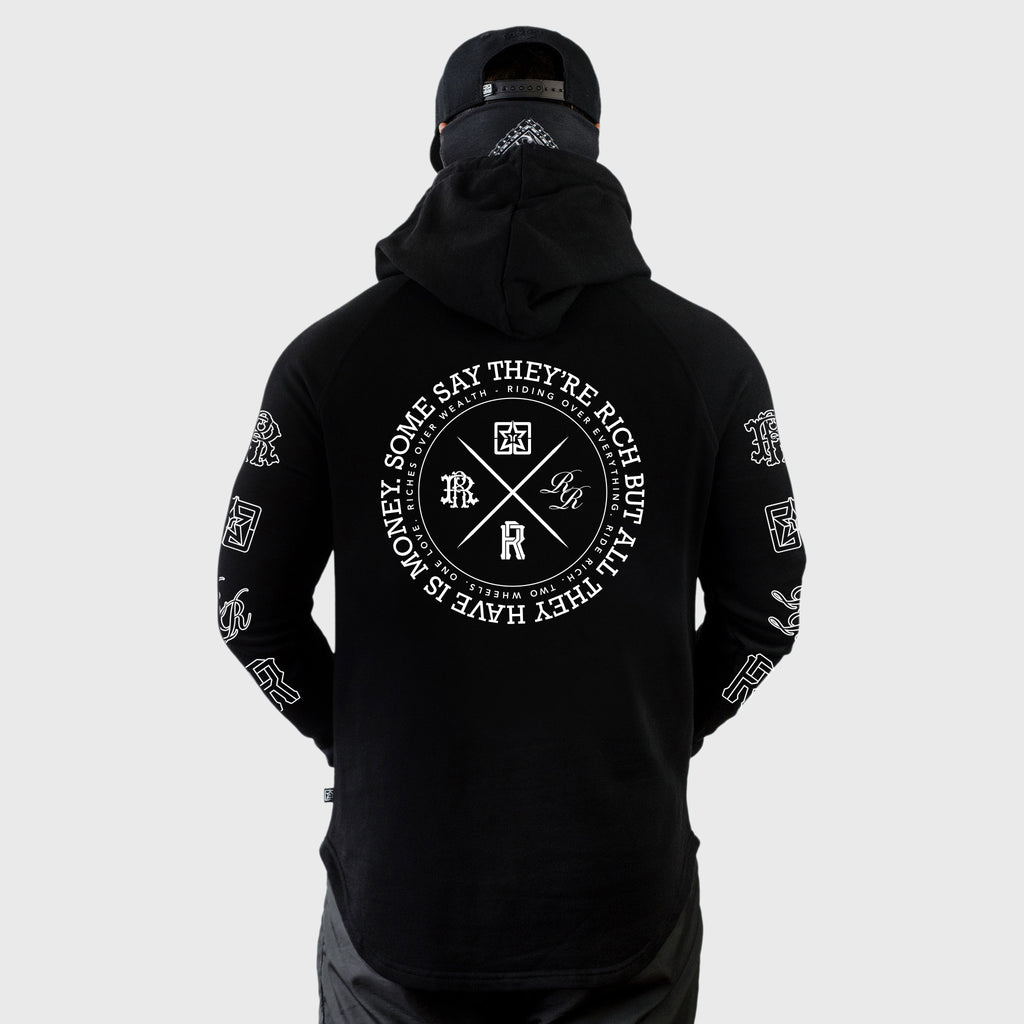 The Motto Scoop Pullover Hoodie