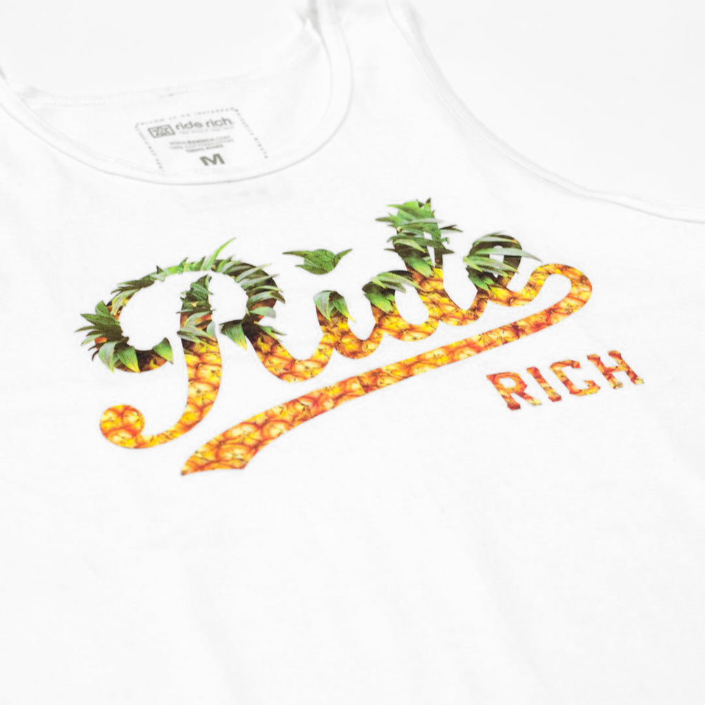 Pineapple Squad Tank {White}