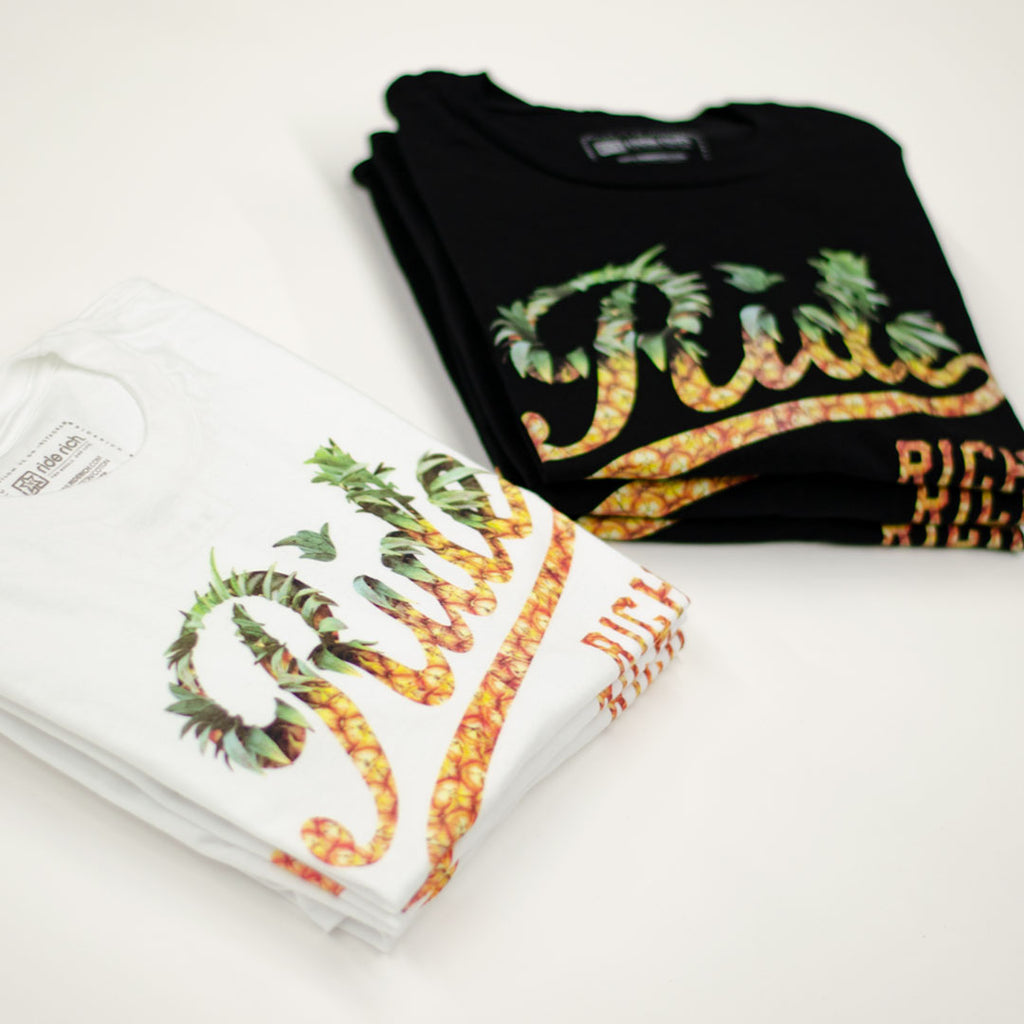 Pineapple Squad Tee {White}