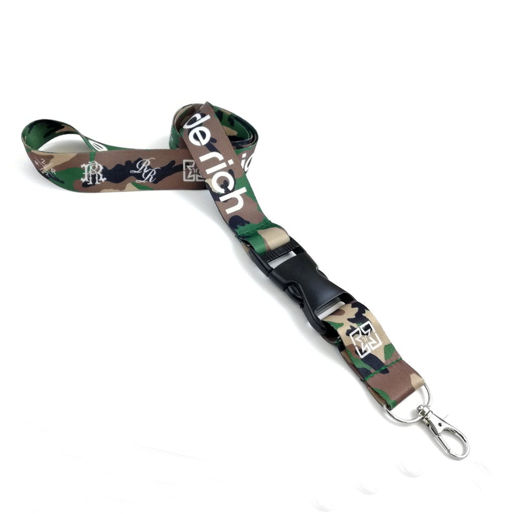 Ride Rich Lanyard {Camo} 1