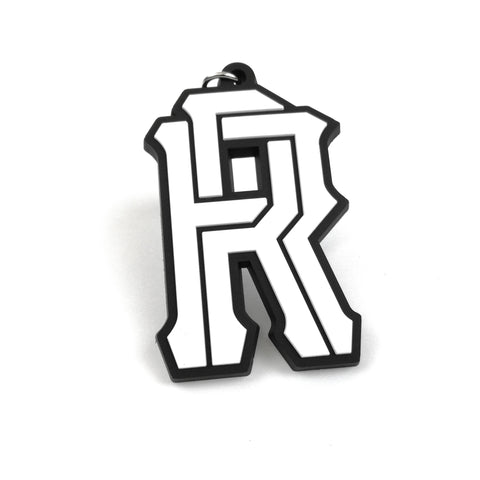 R's on Lock Keychain
