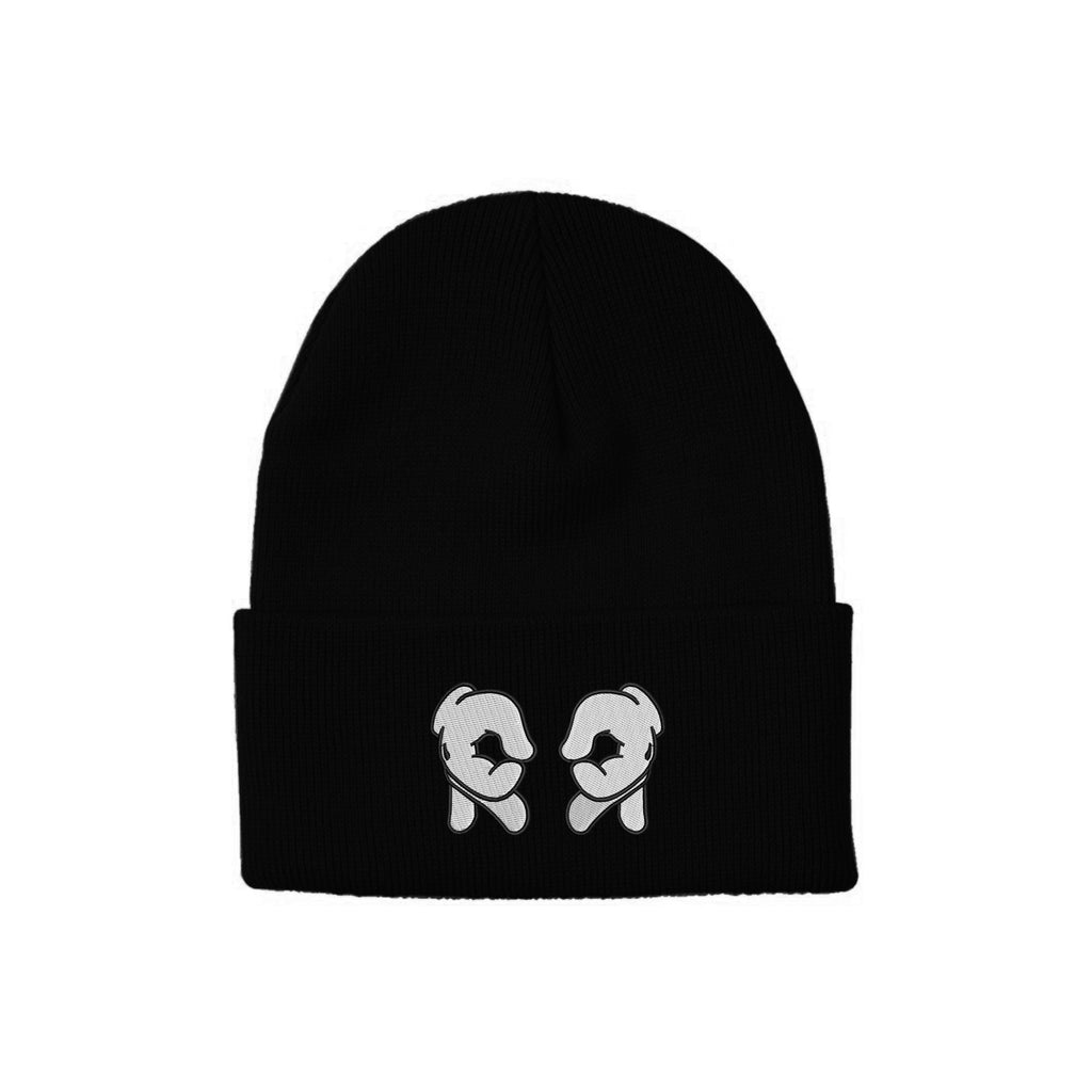 Rep Life On Two Knit Beanie {Black}