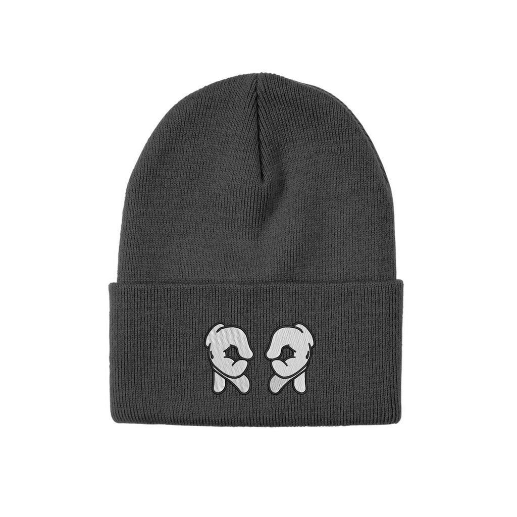 Rep Life On Two Knit Beanie {Grey}