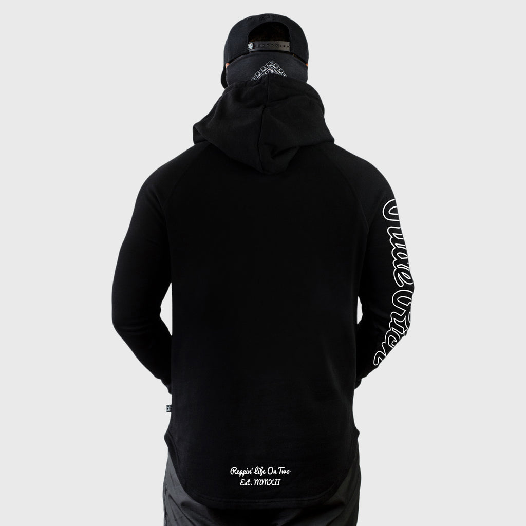 Rep Life On Two {Outline} Scoop Pullover Hoodie