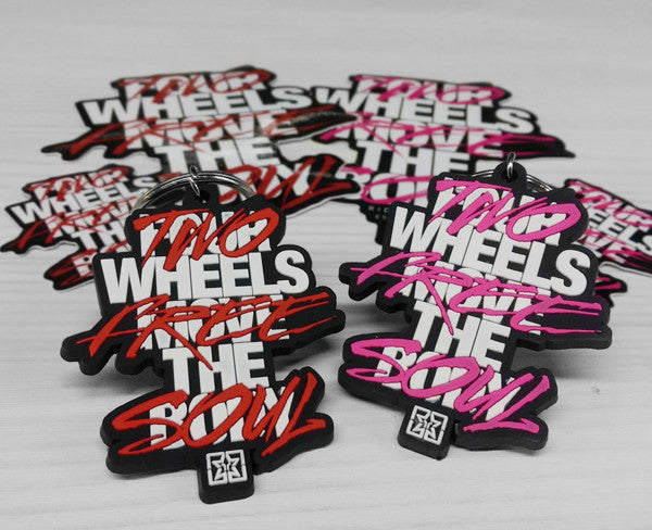 Ride Rich Ride Free Keychain View 1 - Motorcycle Accessories